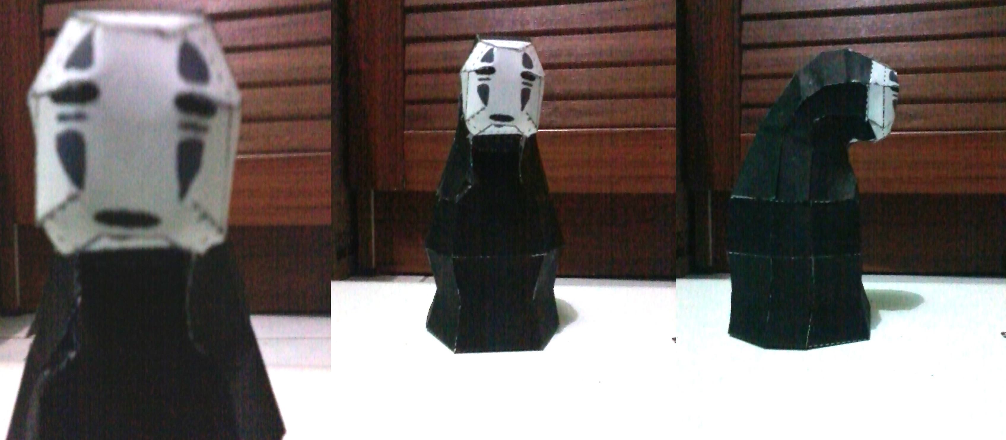 papercraft no face spirited away my story