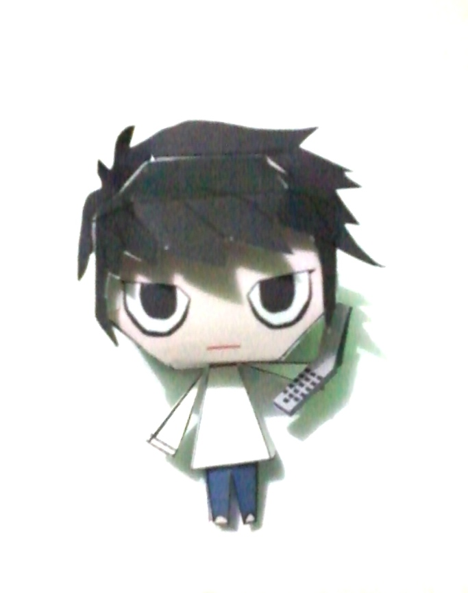 Lawliet Papercraft ~Death Note~